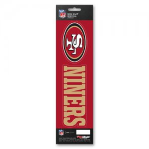 San Francisco 49ers Slogan Decal Pack