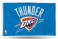 Oklahoma City Thunder Banner Flag