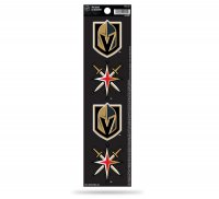 Las Vegas Golden Knights Quad Decal Set