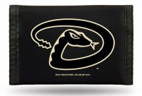 Arizona Diamondbacks Nylon Trifold Wallet