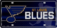 St. Louis Blues Metal License Plate