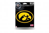 Iowa Hawkeyes Die Cut Vinyl Decal