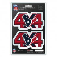 Houston Texans 4x4 Decal Pack