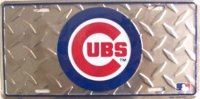 Chicago Cubs Diamond License Plate
