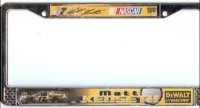 Matt Kenseth #17 License Plate Frame