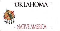 Design It Yourself Custom Oklahoma State Look-Alike Plate #2