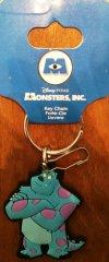 DISNEY Pixar Monsters Inc Rubberized Vinyl Sulley Key Chain