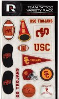 USC Trojans Variety Pack Tattoo Set
