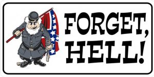 Forget Hell Photo License Plate Forget Hell Photo License