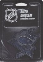 Pittsburgh Penguins NHL Plastic Auto Emblem