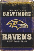 Baltimore Ravens Fridge Magnet