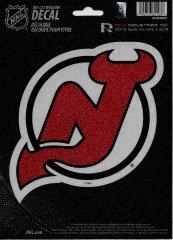 NEW Jersey Devils Glitter Die Cut Vinyl Decal