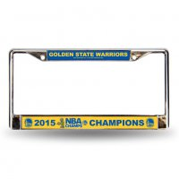 Golden State Warriors 2015 Champs Chrome Frame