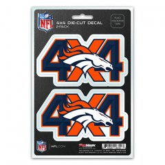 Denver Broncos 4x4 Decal Pack