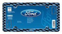Ford Multi-Emblem Plastic License Plate Frame