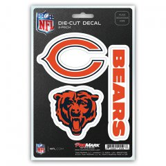 Chicago Bears Team Decal Set