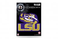 LSU Tigers Glitter Die Cut Vinyl Decal