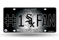 Chicago White Sox #1 Fan Metal License Plate