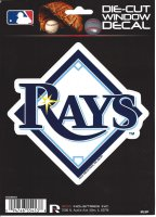 Tampa Bay Rays Die Cut Vinyl Decal