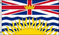 British Columbia Polyester Flag