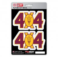 Arizona State Sun Devils 4x4 Decal Pack