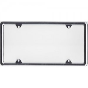 Zinc Alloy Chrome Finish Metal License Plate Frame