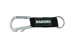 Oakland Raiders Carabiner Key Chain