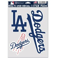 Los Angeles Dodgers 3 Fan Pack Decals
