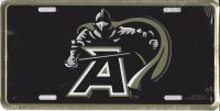 Army Black Knights Metal License Plate