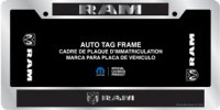 Ram Domed Chrome License Plate Frame