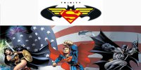 DC Comics Trinity Photo License Plate