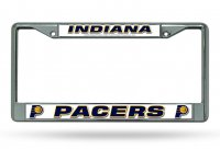 Indiana Pacers Chrome License Plate Frame