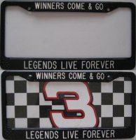 """Winners Come & Go - Legends Live Forever"" Custom Frame"