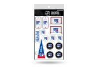 New York Rangers Variety Pack Tattoo Set