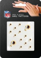 Washington Redskins Peel And Stick Nail Tattoos