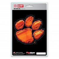 Clemson Tigers Die Cut 3D Decal