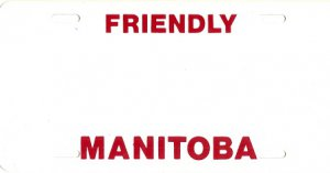 Design it Yourself Manitoba Bicycle Plate #2