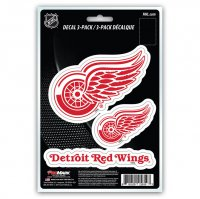 Detroit Red Wings Team Decal Set