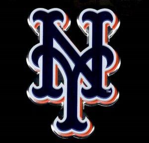 NEW York Mets Full Color Auto Emblem