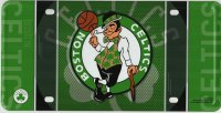Boston Celtics Metal License Plate