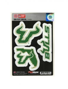 South Florida Bulls Team Decal Set