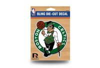 Boston Celtics Glitter Die Cut Vinyl Decal