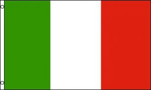 Italy Polyester Flag