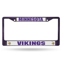 Minnesota Vikings Anodized Purple License Plate Frame