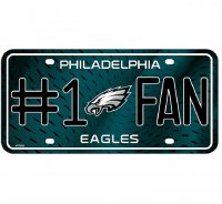 Philadelphia Eagles #1 Fan License Plate