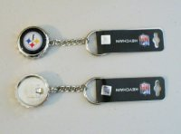 Pittsburgh Steelers Bottle Cap Keychain