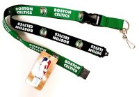 Boston Celtics Two Tone Lanyard With Neck Safety Latch