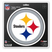 Pittsburgh Steelers 8X8 Die Cut Team Decal