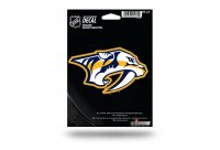 Nashville Predators Die Cut Vinyl Decal
