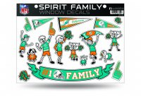 Miami Dolphins Family Decal Set